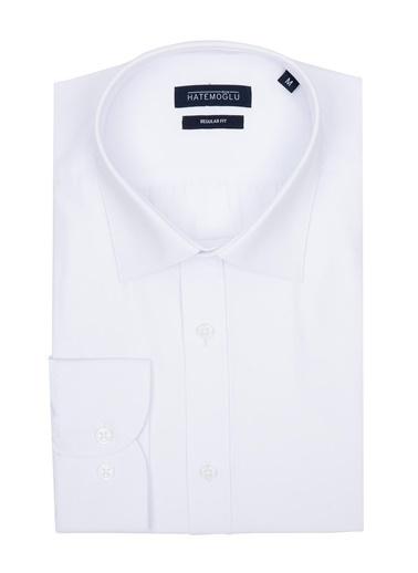 Hatemoğlu Klasik Gömlek Beyaz
